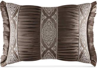 """J Queen New York Stafford Boudoir 15"""" x 21"""" Decorative Pillow"""