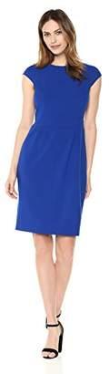 Lark & Ro Women's Cap Sleeve Sheath Dress