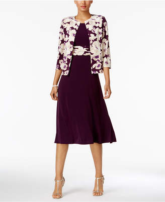Jessica Howard Floral-Print-Contrast Dress and Jacket $99 thestylecure.com