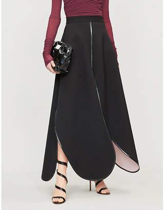 Y/Project Split hem high-rise cotton maxi skirt