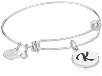 N. Halos & Glories Initial K Bangle Bracelet