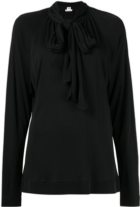 Hermes Pre-Owned pussy bow blouse