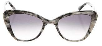 Prism Cat-Eye Tinted Sunglasses