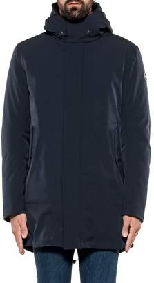 Colmar Biker Jacket With Hood Blue