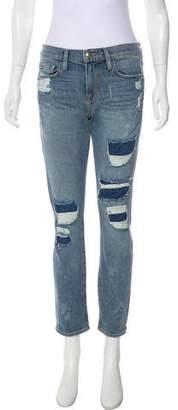 Frame Le Boy Mid-Rise Jeans