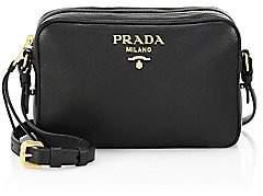 Prada Women's Daino Leather Camera Bag