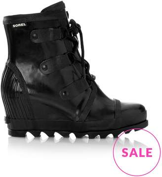 Sorel Joan Waterproof Rain Wedge Gloss Boots