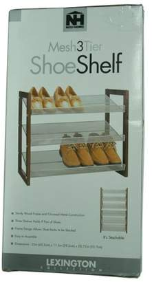 Organize It All Neu Home 17053 3 Tier Shoe Shelf