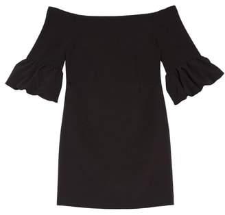Milly Samantha Ruffle Sleeve Dress