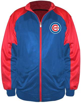 Majestic Big & Tall Chicago Cubs Track Jacket