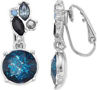 Vera Wang Simply Vera Simulated Crystal Drop Earrings