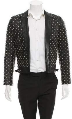 Saint Laurent Studded Leather Jacket