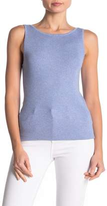525 America Ribbed Knit Scoop Neck Tank Top