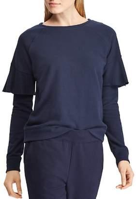 Ralph Lauren Tiered Sleeve Pullover
