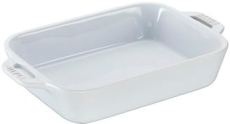 Staub Rectangular Baker - White