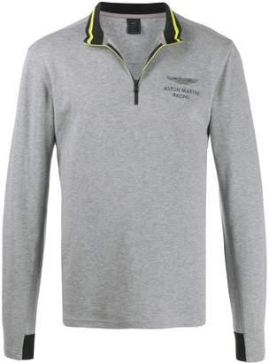 Hackett Aston Martin Racing zip sweatshirt