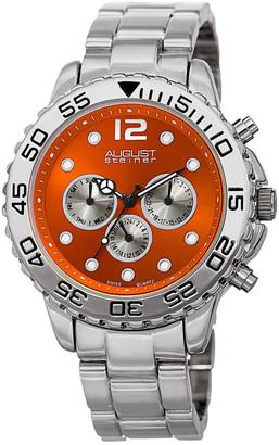 August Steiner Men's Alloy Bracelet Watch