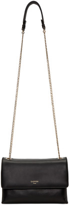 Lanvin Black Mini Sugar Bag $1,495 thestylecure.com