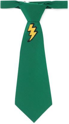 Children's lightning bolt silk tie $170 thestylecure.com
