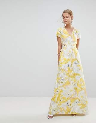 Max & Co. Max&Co Floral Maxi Dress