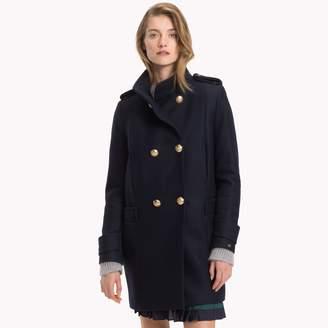 Tommy Hilfiger Wool Military Coat