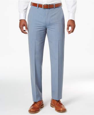 Sean John Men's Classic-Fit Light Blue Pinstripe Suit Pants $120 thestylecure.com
