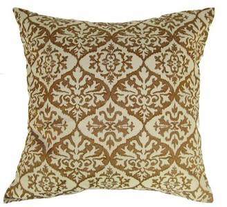 Design Accents LLC Ikat Mat Throw Pillow Design Accents LLC