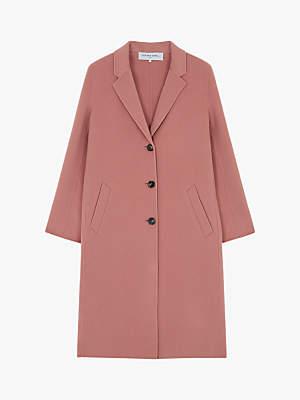 Gerard Darel Marina Wool Coat, Pink
