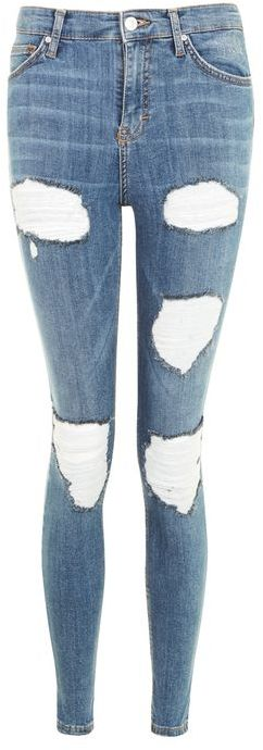 Topshop Topshop Moto cheeky ripped jamie jeans