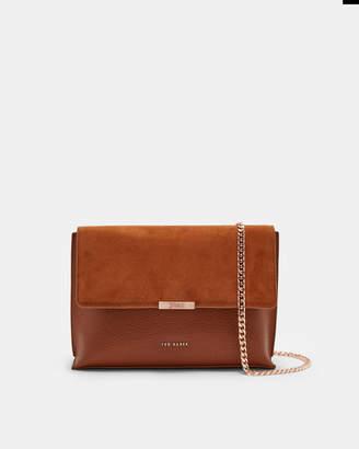 Ted Baker KAMIILA Bar detail leather cross body bag
