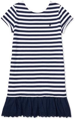 Ralph Lauren Striped Dress, Big Girls (7-16) $49.50 thestylecure.com