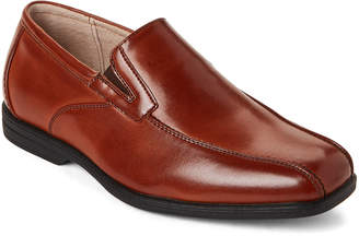 Florsheim Kids Boys) Cognac Rolan Bike Toe Loafers