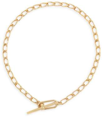 AllSaints Link Toggle Necklace, 15""