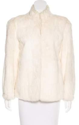Fur Long Sleeve Rabbit Jacket