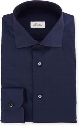 Brioni Men's Solid Cotton Dress Shirt