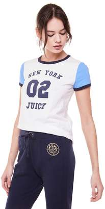 Juicy Couture New York 02 Colorblock Tee