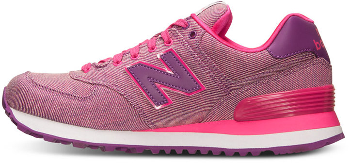 New Balance Women's 574 Glitch Casual Sneakers from Finish Line 8
