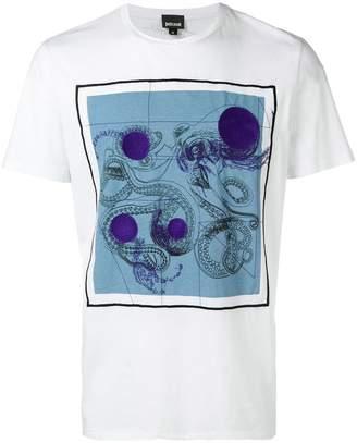 Just Cavalli geometric print T-shirt