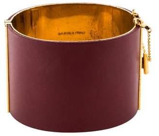 Celine Leather Manchette Cuff