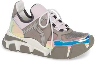 Salvatore Ferragamo Cimbra Hologram Sneaker