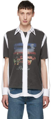 Maison Margiela White Skeleton Shell Shirt