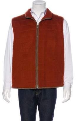 Loro Piana Cashmere Zip-Up Vest