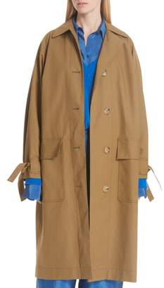 Christian Wijnants Tie Cuff Trench Coat