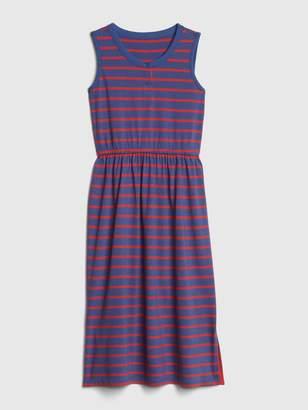 Gap Kids Stripe Tank Midi Dress
