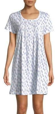 Carole Hochman Plus Butterfly Pintuck Sleepshirt
