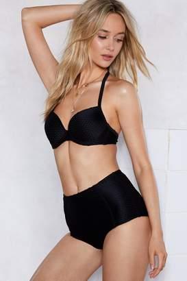 Nasty Gal Dive Bar High-Waisted Bikini Set