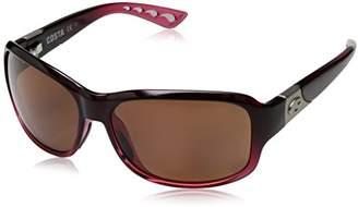 Costa del Mar Women's Inlet IT 76 OGP Polarized Round Sunglasses