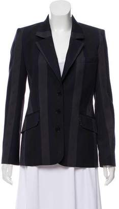 Lucien Pellat-Finet Striped Wool Blazer w/ Tags