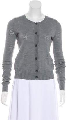 See by Chloe Wool-Blend Knit Cardigan