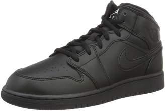 Nike Youth Air Jordan 1 Medium Leather Trainers 37.5 EU